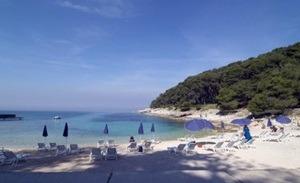 spiaggia veli zal mail losinj