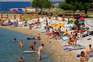 spiaggia urbana crikvenica