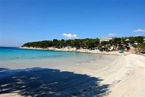 plaža slanica otok murter