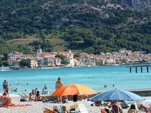 spiaggia baska isola di krk