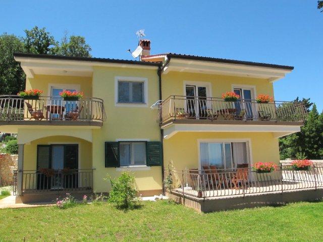Apartman Sisol - Brseč (2+2)